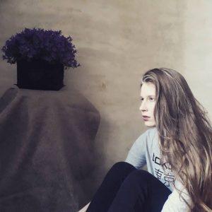 Krisztina Hegyi drummer - Moyogiband author of Role play lyrics
